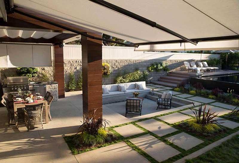 backyard patio awning