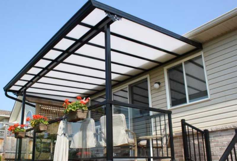 backyard patio roof