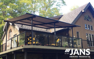 2nd floor patio awning