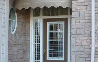 front door canopy awning