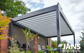 specialized awning - louvered roof