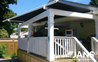 specialized awning - patio stoop