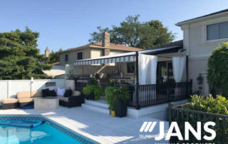 poolside awning