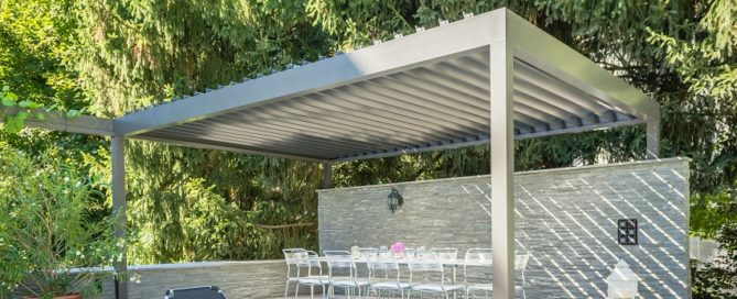 stobag louvered roof