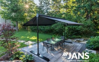 picnic table awning